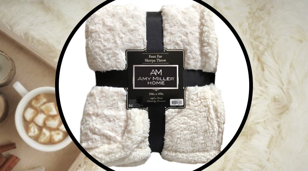 Free Gift: Faux Fur Sherpa Throw - INVITE ONLY