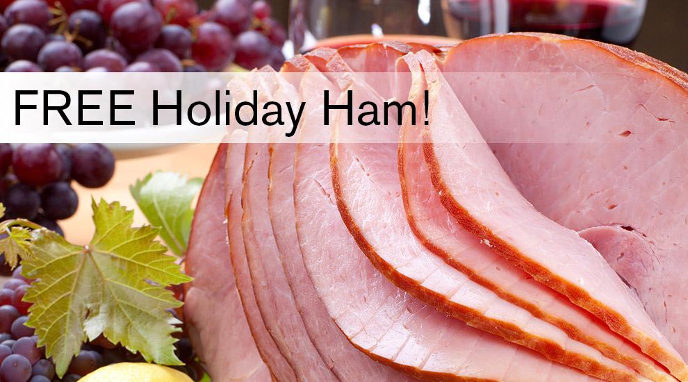 Free Gift: Ham Voucher - INVITE ONLY