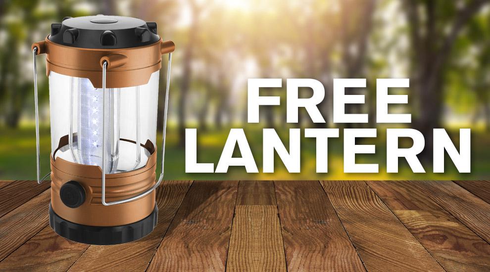 Free Gift: LED Lantern - INVITE ONLY