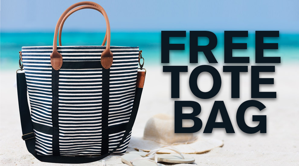 Free Gift: Tote Bag - INVITE ONLY