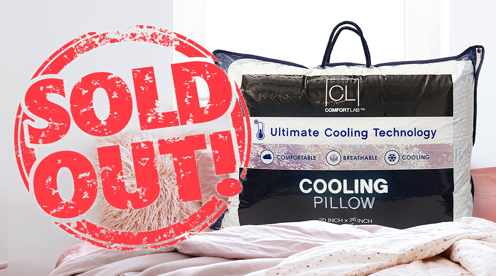 Free Gift: Cooling Pillow - INVITE ONLY