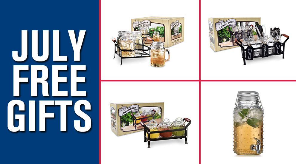 Free Gifts: Retro Entertaining Set - INVITE ONLY