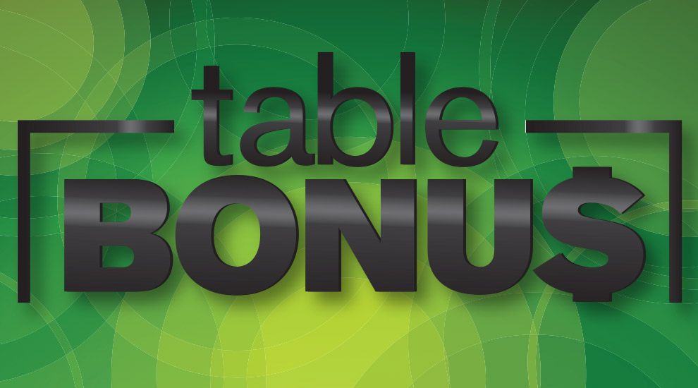 Table Bonus