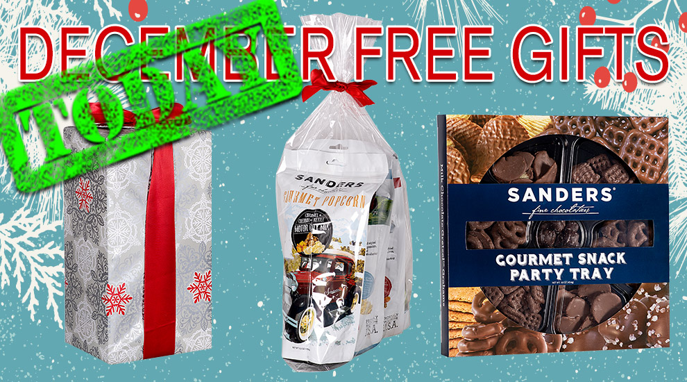 Free Gifts: Sanders Gift Sets - INVITE ONLY