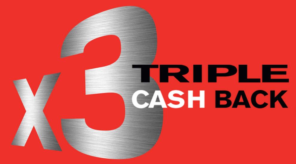 3x Cash Back