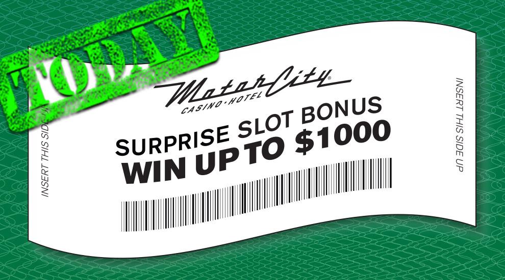 Surprise Slot Bonus - INVITE ONLY