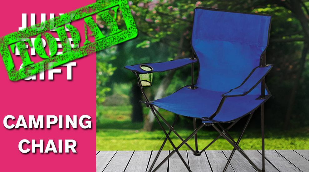 Free Gift: Camping Chair - INVITE ONLY