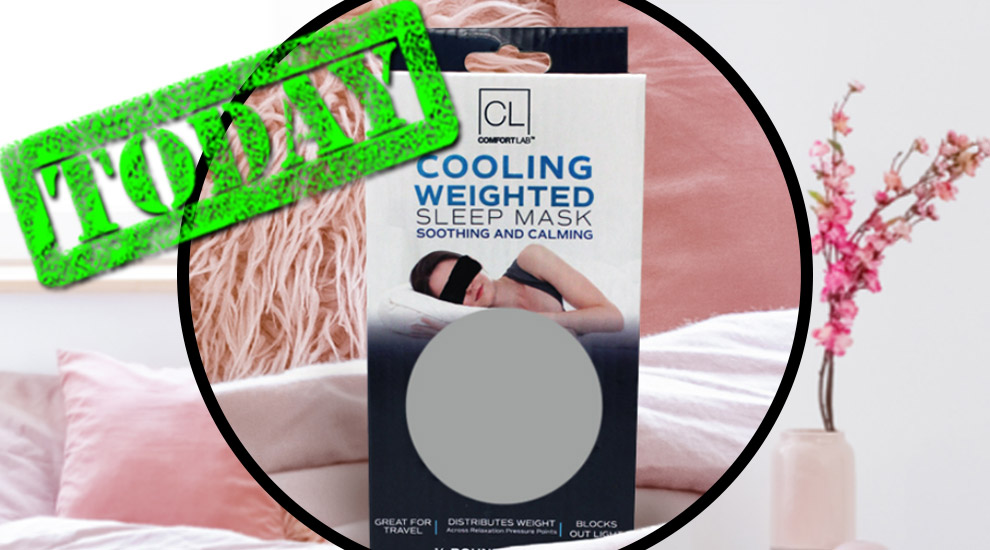 Free Gift: Weighted Sleep Mask - INVITE ONLY