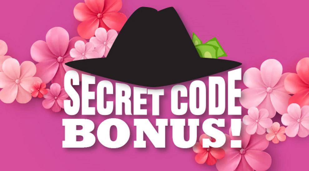 Secret Code Bonus - INVITE ONLY