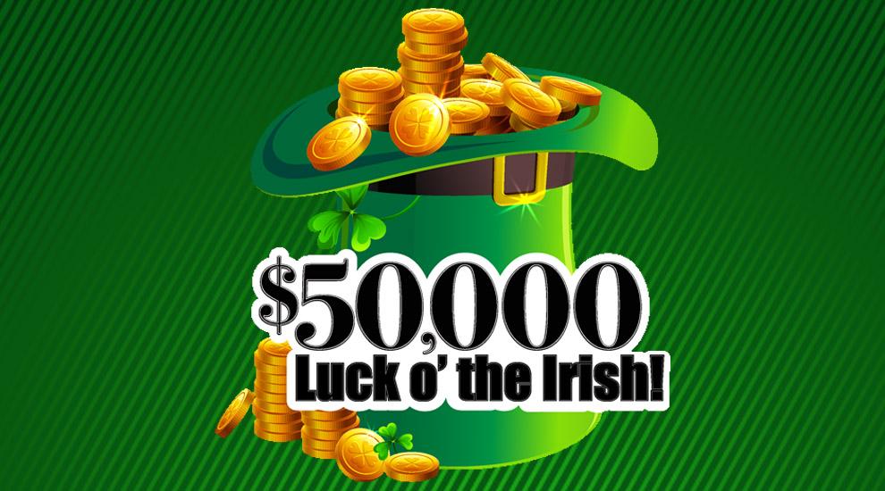 $50,000 Luck O