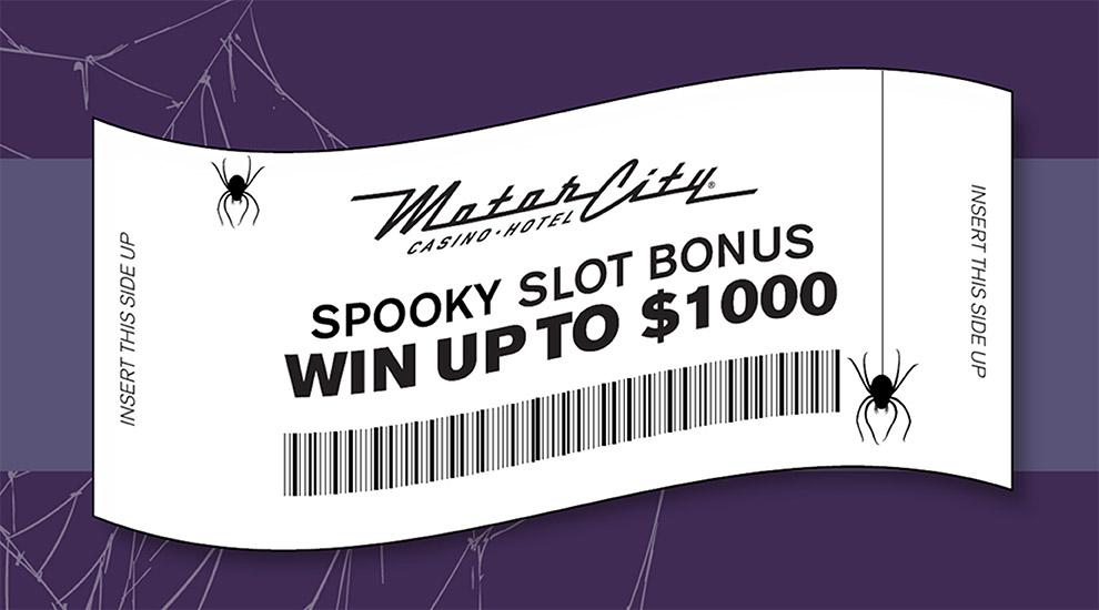 Spooky Slot Bonus - INVITE ONLY