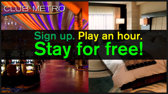 Play an Hour. Stay for Free!
